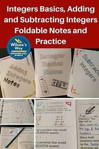 25+ best ideas about Integers foldable on Pinterest ...