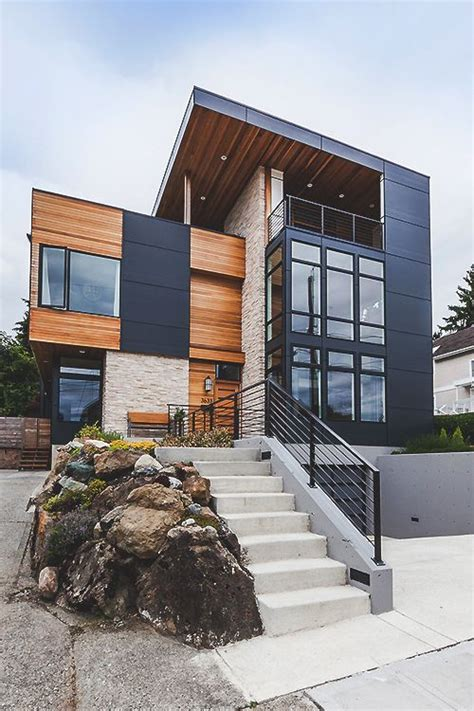 71 Contemporary Exterior Design Photos  Modern. Backyard Shade Structures. Bar Table Behind Couch. C Side Table. Bathroom Vanities With Sinks. Outdoor Dining Sets. Charging Station Nightstand. House Numbers. Contemporary Bathroom Design