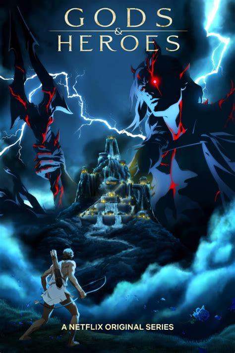 netflix announces greek mythology anime series gods heroes