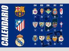 Liga BBVA ¿Cuál es el calendario de Barça, Atlético y