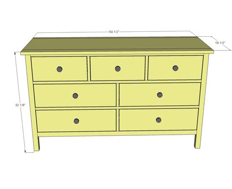 ana white kendal extra wide dresser diy projects
