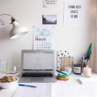 Study Desk Inspiration Hard Studydiaryofamedstudent Lagom Backgrounds
