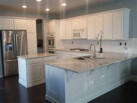 my new kitchen river white granite benjamin white