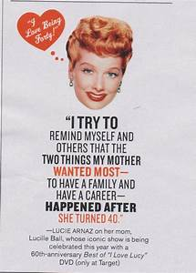 Red I Love Lucy Quotes. QuotesGram
