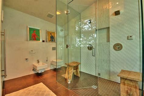 chic frameless glass shower doors in style orange