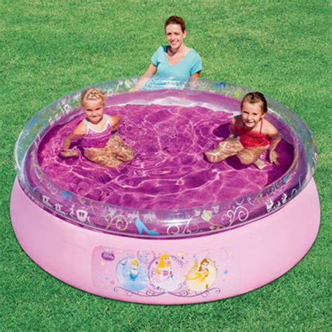 Bestway Inflatable Disney Princess Fast Set Play Pool