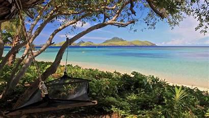 Fiji Beach Hammock Wallpapers Desktop Backgrounds Background