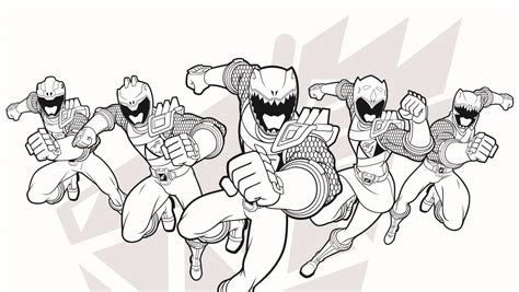 Best Good Power Rangers Coloring Pages Rangers Coloring