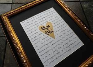 13 thoughtful wedding gifts for parents parents dads for Parent gifts for wedding
