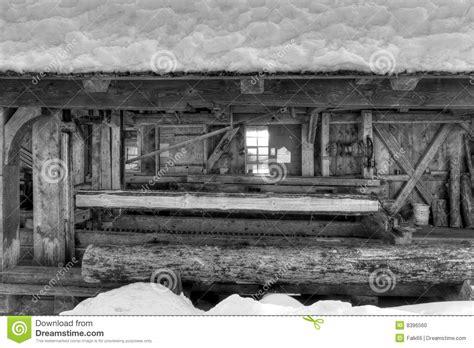 sawmill stock photo image  sawmill forest black