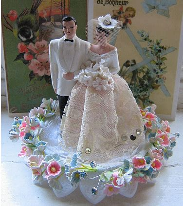 Wedding Cake Toppers by Wedding Cake Toppers Vintage Wedding Cake Toppers