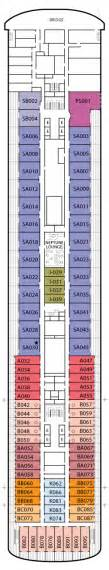 veendam holland america line deck plans cruiseline com