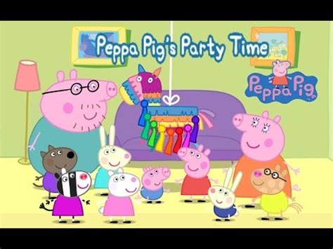peppa pigs time musical chairs peppa pigs