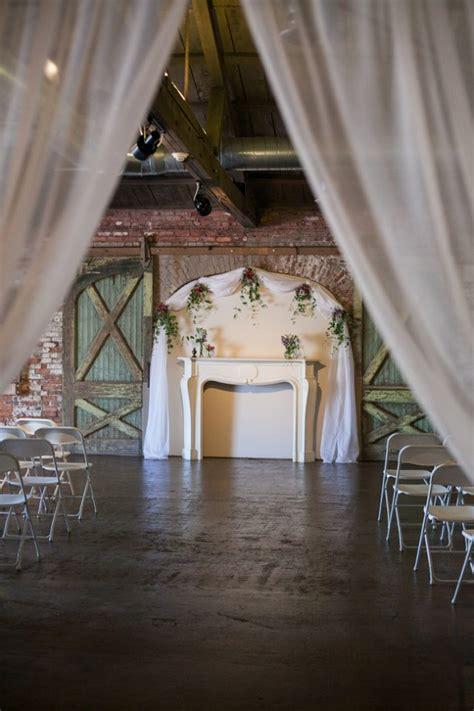 industrial style wedding rustic wedding chic