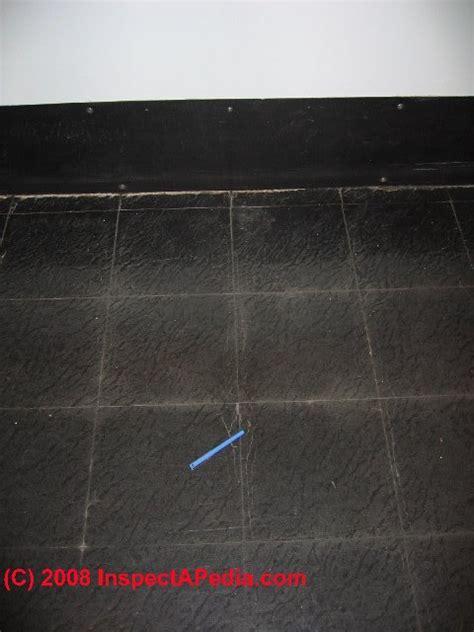 Asbestos Content in Floor Tile Mastics, Cutback Adhesive