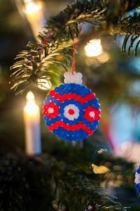 Bügelperlen Wie Bügeln : weihnachtskugeln aus b gelperlen trytrytry ~ Yasmunasinghe.com Haus und Dekorationen