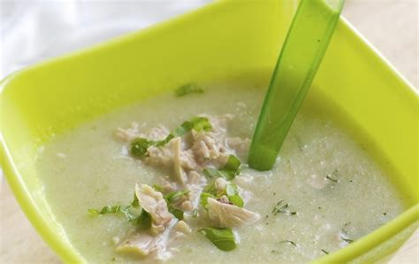 recette potage de haricots verts au concombre 4 5 mois