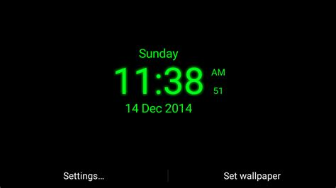 Digital Clock Wallpaper by Digital Clock Live Wallpaper Android Apps On Play