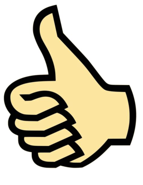 Thumbs Clipart Thumbs Up Clipart Clipart Panda Free Clipart Images