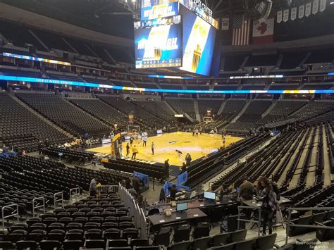 pepsi center section  denver nuggets rateyourseatscom