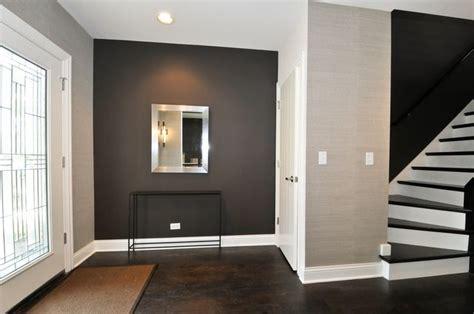 hardwood floors with grey walls love the dark hardwood floor matching stairs grey walls and white door ignite life
