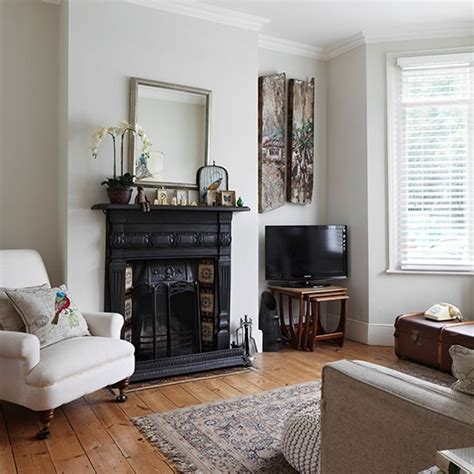 living room makeovers uk neutral living room with traditional fireplace
