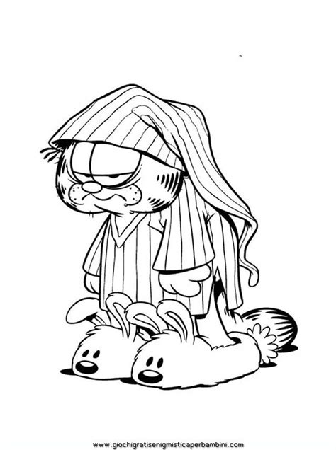 garfield  odie coloring pages az coloring pages