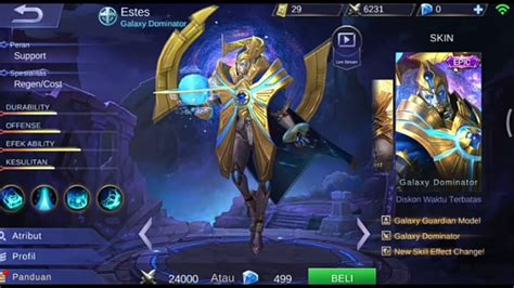 [review] Skin New Clint,freya,hayabusa Dan Skin Epic Estes