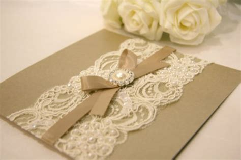 Vintage Wedding Invitationsset The Tone For A Timeless