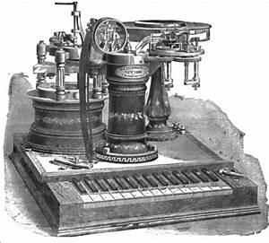 Diagram Of Electric Telegraph