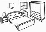 Coloring Pages Living Drawing Colouring Bedroom Printable Children Livingroom Disney Sheets Draw Interior Cartoon sketch template