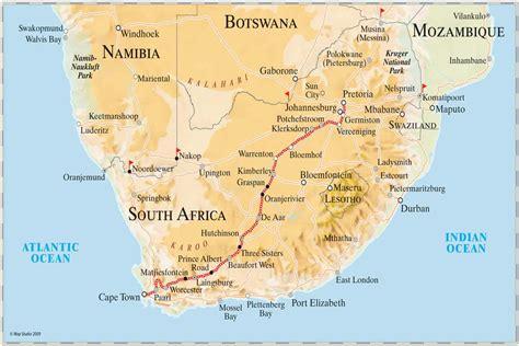 Rovos Rail Pretoria nach Kapstadt - Zugreise durch ...