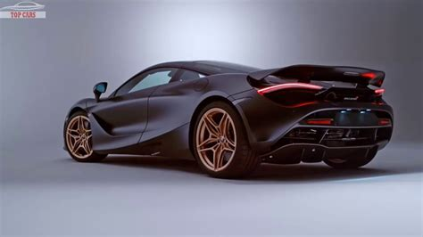 top cars mso mclaren  gold black  luxury