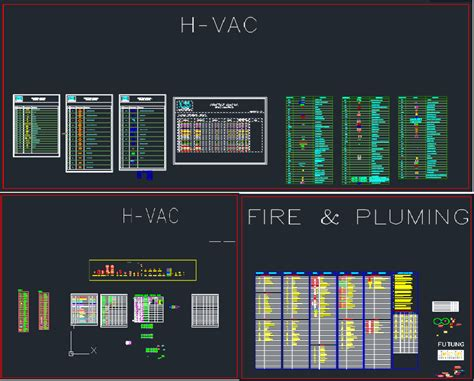 Hvac Drawing In Autocad by All Autocad Fittings Blocks For Hvac Firefighting And