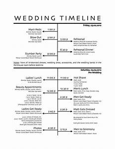 25 best ideas about wedding day schedule on pinterest With wedding rehearsal schedule template