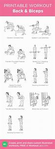 Back  U0026 Biceps My Visual Workout Created At Workoutlabs Com Click Through To Customize And