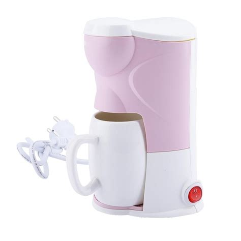 The push button on the lid needs to be fully actuated to ensure the lid opens properly. 300W Multi use Home Mini Single Cup Drip Coffee Makers household Restaurant Electric Automatic ...