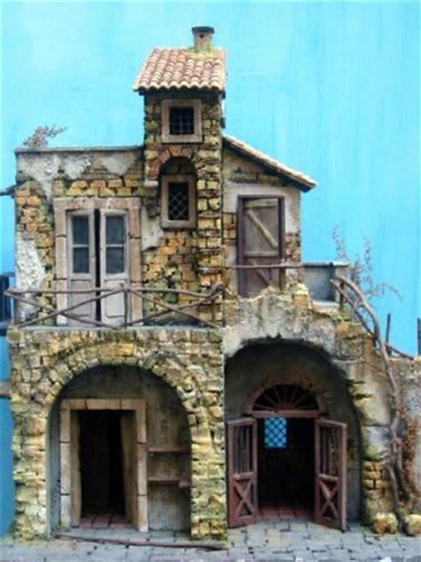architetture  paesaggi  presepe napoletano il