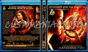 The Hunger Games; Catching Fire blu-ray cover - DVD Covers ...