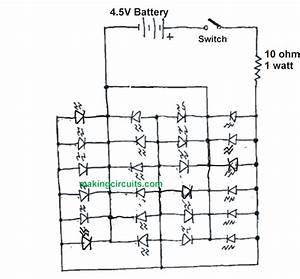 Simple High Power Led Flashlight Circuit