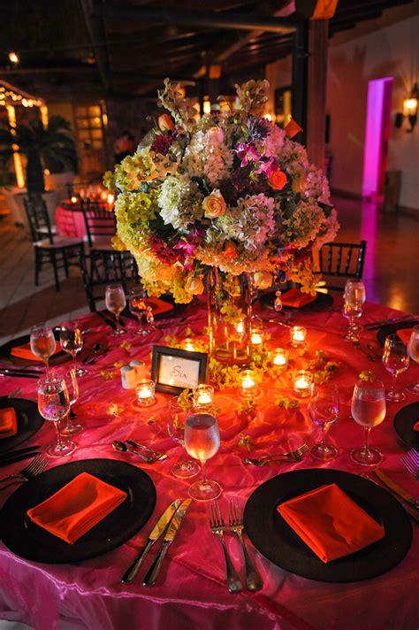Photo of the Day Elegant Fuchsia Table Arrangement