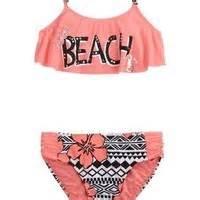 Beach Flounce Bikini Swimsuit   Girls from Justice   Swimming