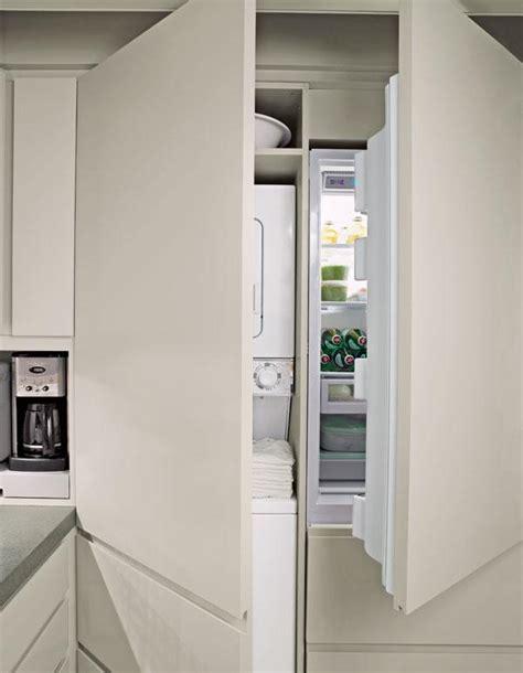 lave cuisine comment intégrer le lave linge dans intérieur 31 idées