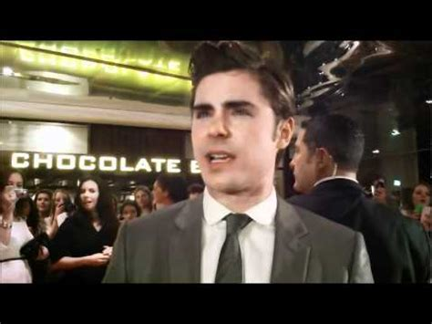 Interview with Zac Efron at The Lucky One Sydney premiere ...