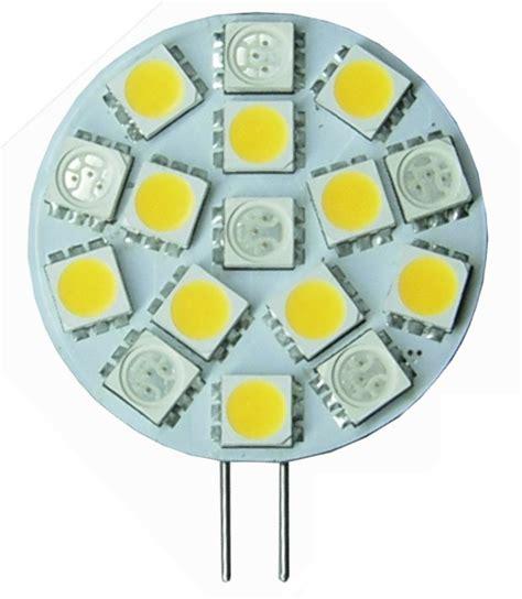 bi color 12 volt led bulb g4 side bi pins 6 10