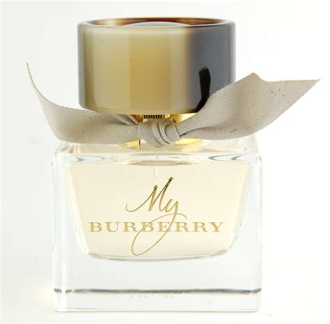 my burberry eau de toilette vs eau de parfum swatch and
