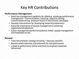 Strategic Value of the HR Function Presentation by - ppt ...