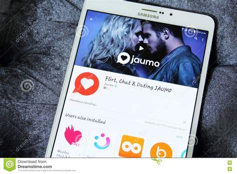 Jaumo app imagem editorial. Imagem de contato, apps ...