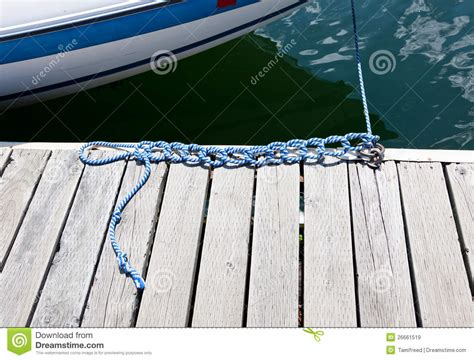 Boat Knots Book by Knots In A Boat Rope Royalty Free Stock Images Image
