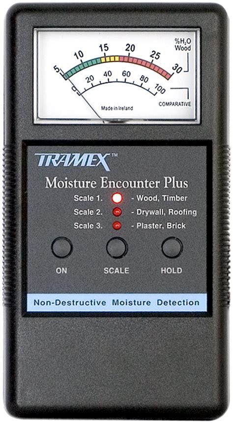 tramex moisture encounter  analog moisture meter